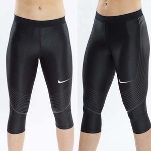 Nike 'Power Speed' Black Capris